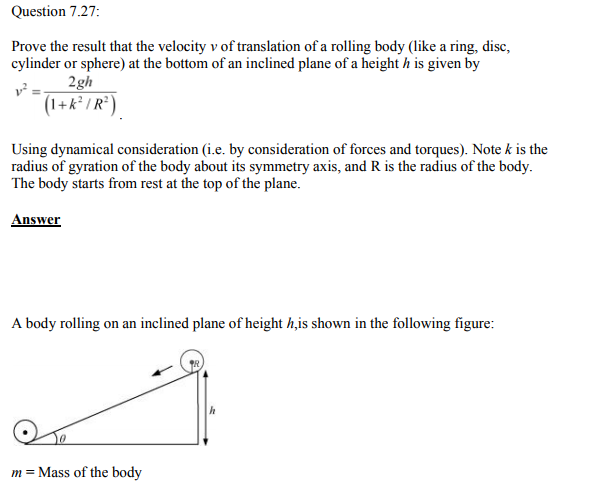 Physics Numericals Class 11 Chapter 7 117