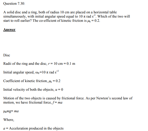 Physics Numericals Class 11 Chapter 7 126