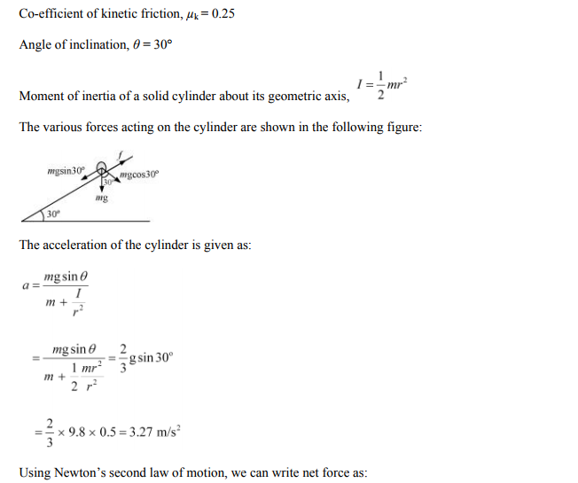 Physics Numericals Class 11 Chapter 7 132