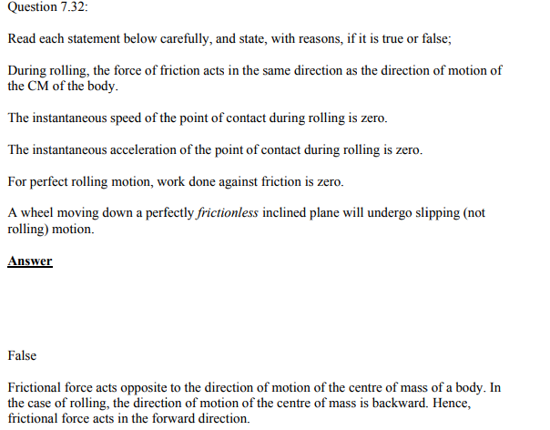 Physics Numericals Class 11 Chapter 7 135