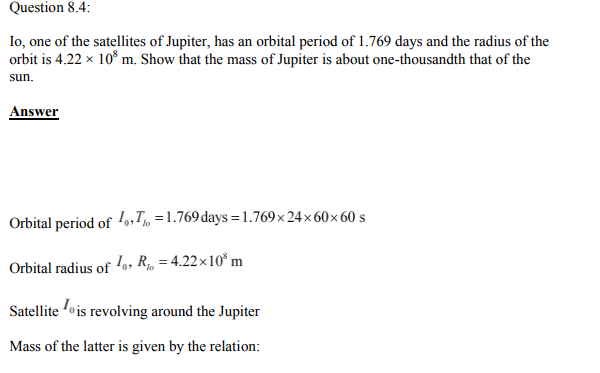 Physics Numericals Class 11 Chapter 8 9