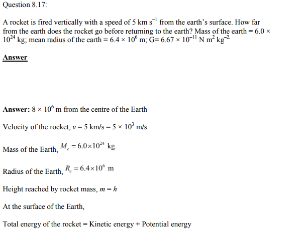Physics Numericals Class 11 Chapter 8 39