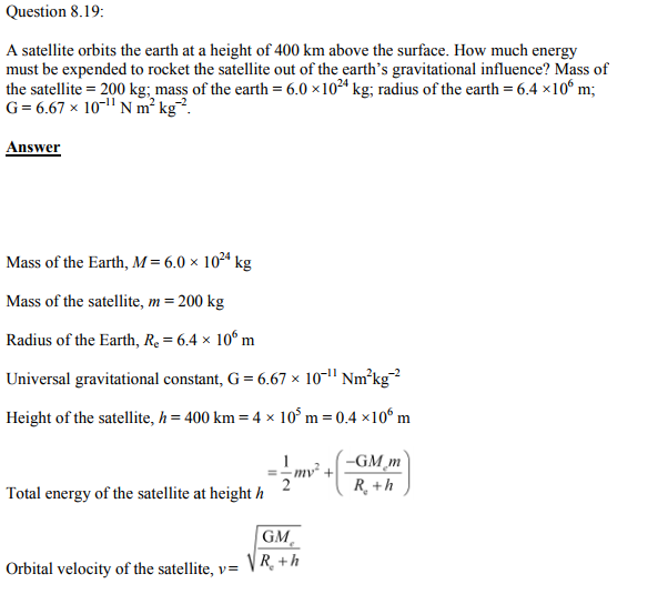Physics Numericals Class 11 Chapter 8 45