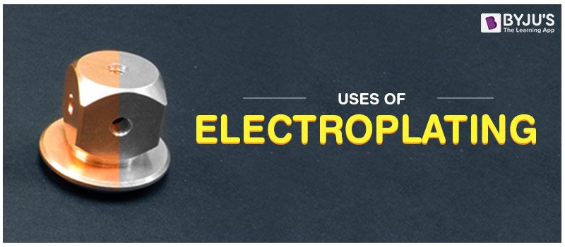 Uses of Electroplating
