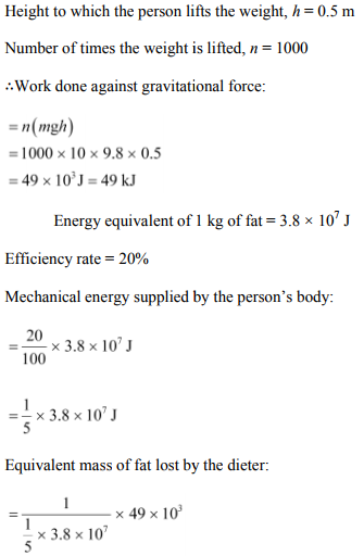 Physics Numericals Class 11 Chapter 6 75