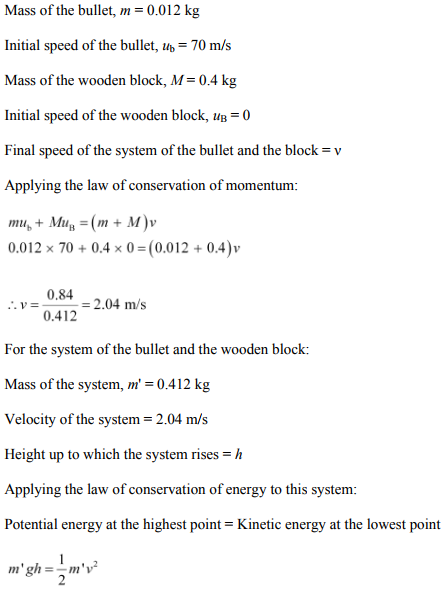 Physics Numericals Class 11 Chapter 6 81