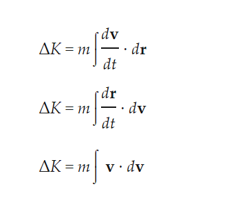 Derivation Of Kinetic Energy