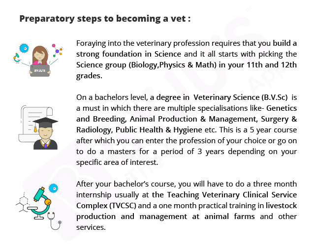 how to become a vet, vet, animal doctor, byjus, what d i want to be when i grow up