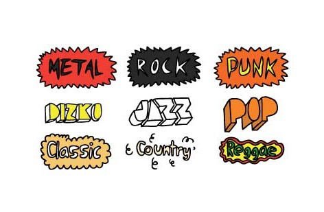 Different music genres