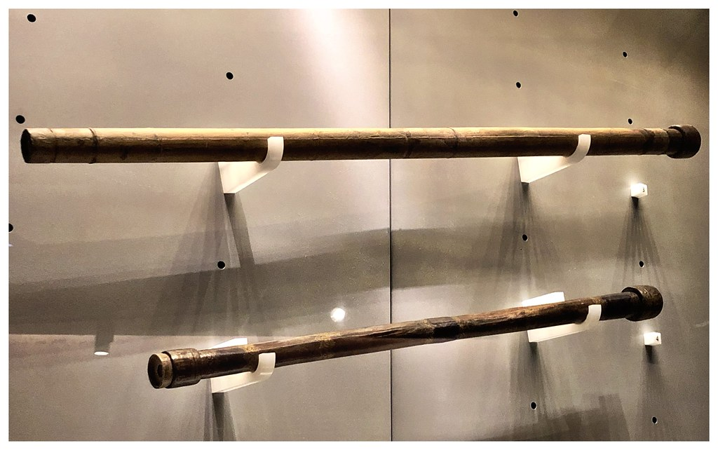 Galileo's telescopes on display at the Museo Galileo in Florence, Italy.