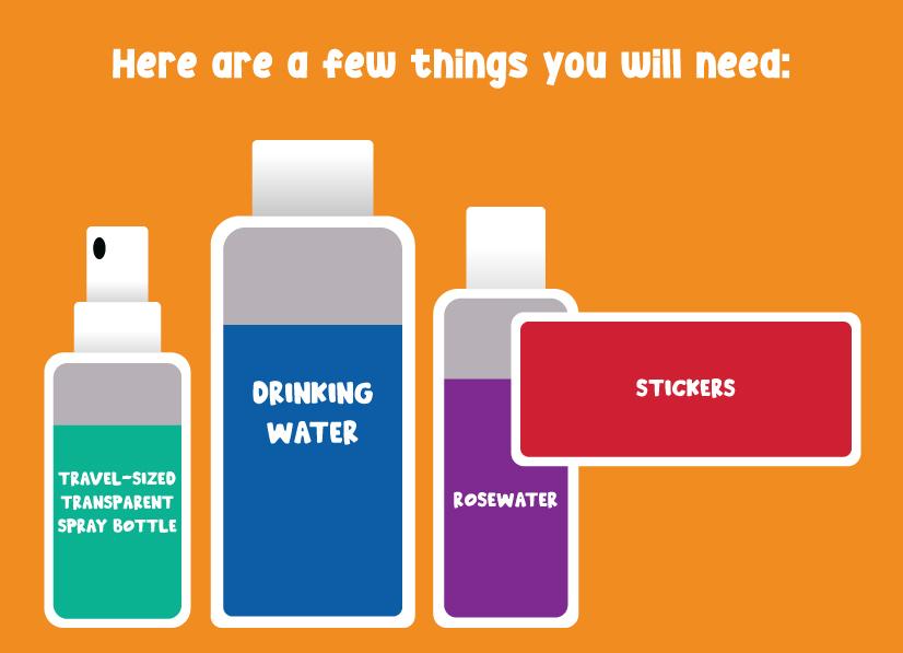 Ingredients diy Calming Spray