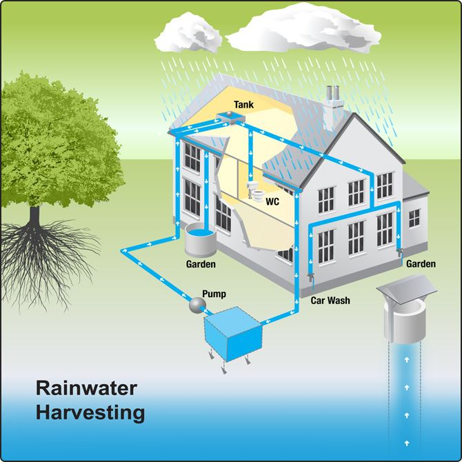 Rainwater Harvesting Process Advantages And Its