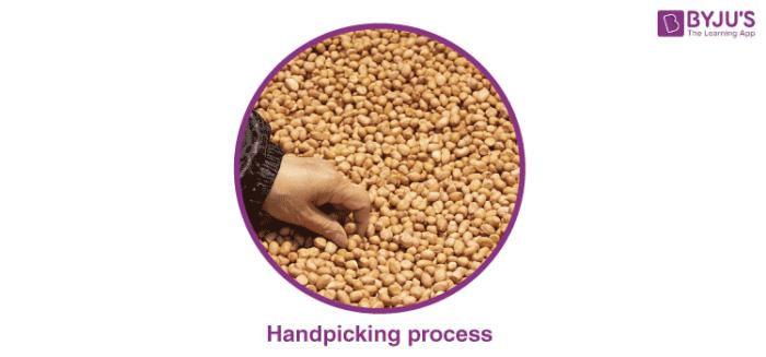 Handpicking : A Separation Technique