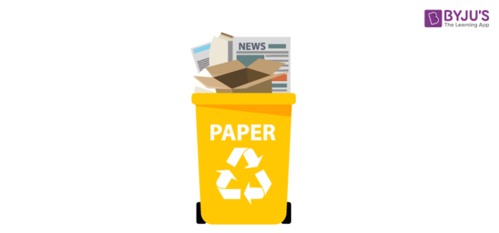 Introduction: Recycling of Paper