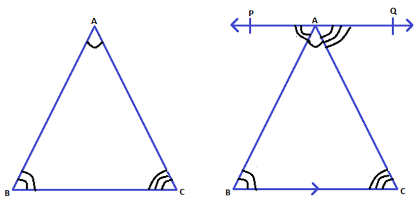 Angle Sum Property Of A Triangle Exterior Angle Theorem