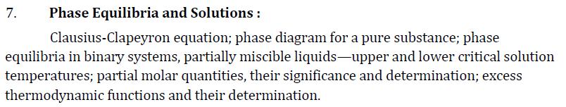 UPSC Chemistry Syllabus- Chemistry Optional Syllabus Paper-I 3