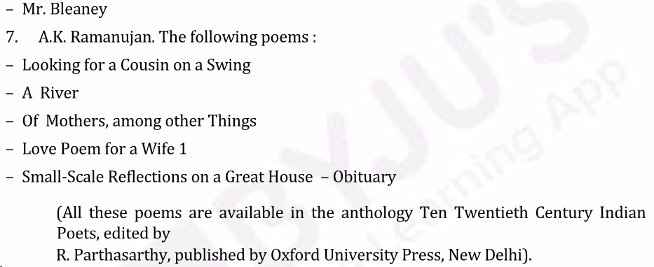 UPSC English Literature Syllabus- English Literature Optional Syllabus Paper-II 4