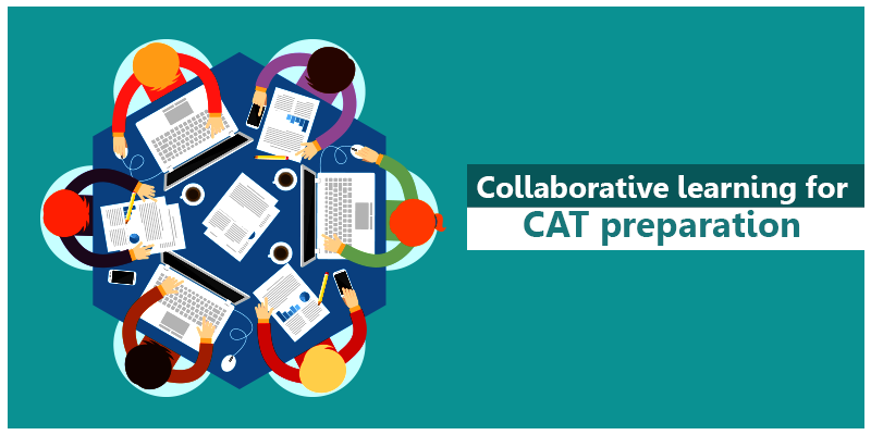 Collaborative learning for CAT preparation