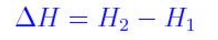 Enthalpy_Formula