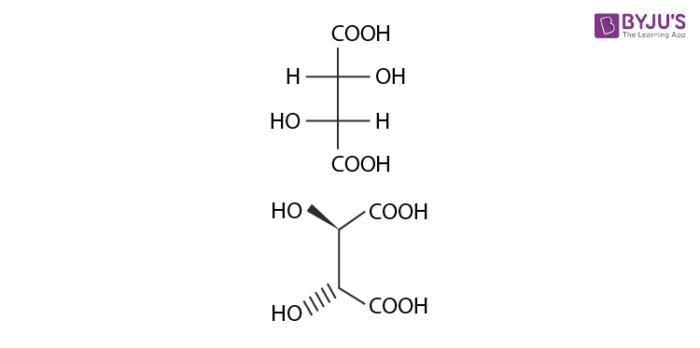 Epimers - Dextrotartaric acid