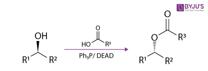 Reaction Mechanism of Mitsunobu Reaction