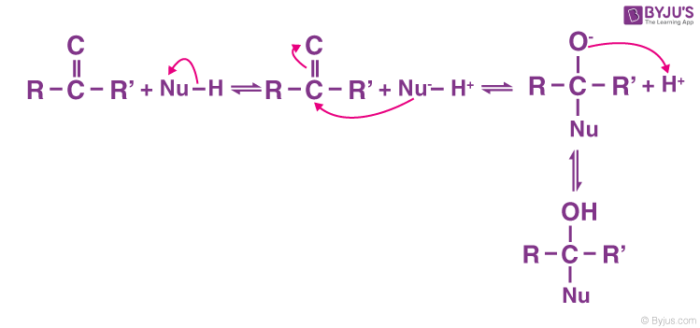 Nucleophilic addition - Ketone