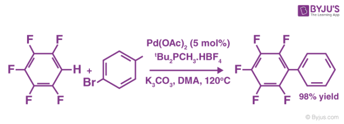 Coupling Reactions of Aromatic Hydrocarbons