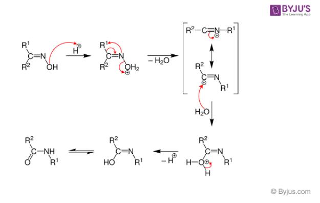 Beckmann Rearrangement Mechanism