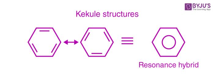 Benzene - Kekule structure