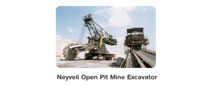 Neyveli Open Pit Mine Excavator
