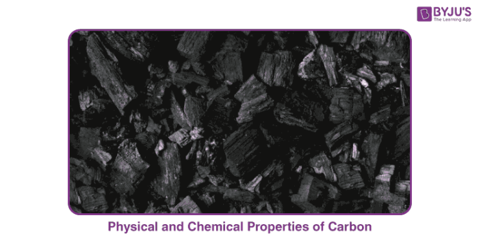 Chemical Properties of Carbon