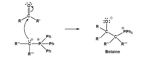 Wittig Reaction Mechanism Step 1