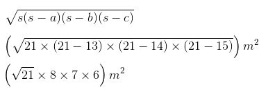 Class 9 Chapter 12 Imp.Q.3.Solution