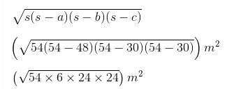 Class 9 Chapter 12 Imp.Ques.4 Answer