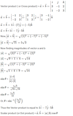 Vectors - Definition, Operations and Magnitude of a Vector
