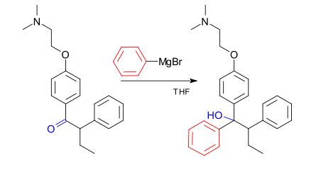 Industrial Reaction of Grignard Reagents