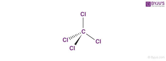 Carbon Tetrachloride Structure