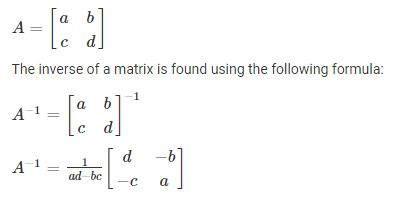 inverse-matrix-method
