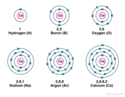 Atomic Number Orbital Energy Levels