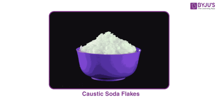 The Chemical Formula of Caustic Soda is NaOH