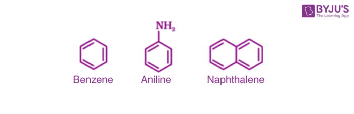Examples of Aromatic compounds
