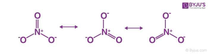 Resonance Structures of NO3