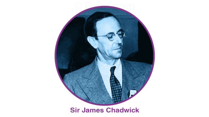 The Neutron was Discovered by James Chadwick