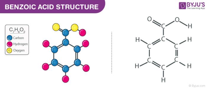 Benzoic Acid Structure