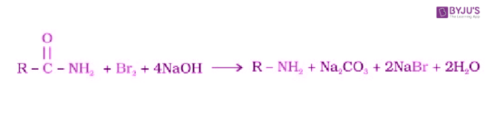 Hoffmann bromamide degradation reaction