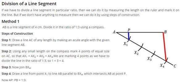 Class 10 Maths Chapter 11 - Constructions