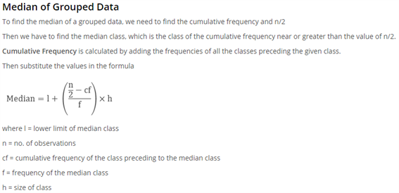 Class 10 Maths Chapter 14 - Statistics