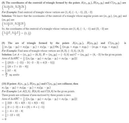 Class 10 Maths Chapter 7 - Coordinate Geometry