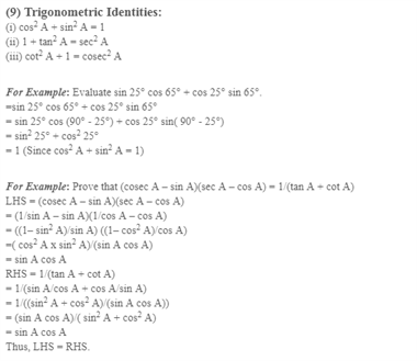 Class 10 Maths Chapter 8 - introduction to trigonometry