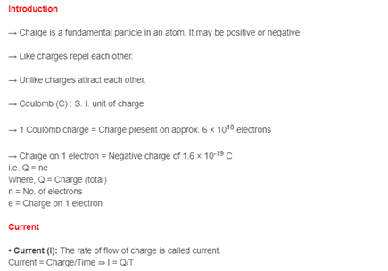Class 10 Science Chapter 12 - Electricity